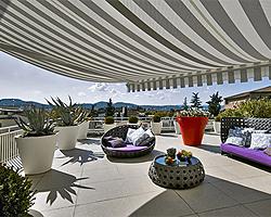 Überdachung für Balkon und Terrasse