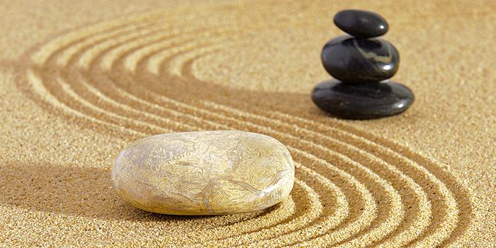 Zen Garten: Der Garten Ganz Aus Stein