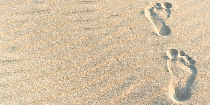 Sand als Bodenbelag